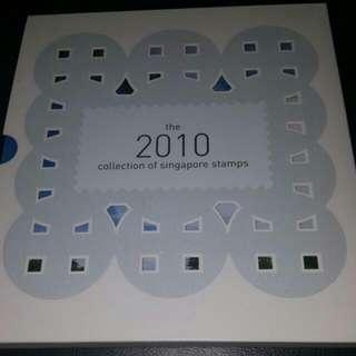 Singapore stamp2010