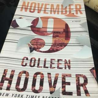 November by Colleen Hoover