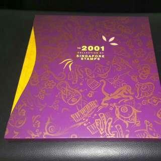 Singapore stamp 2001