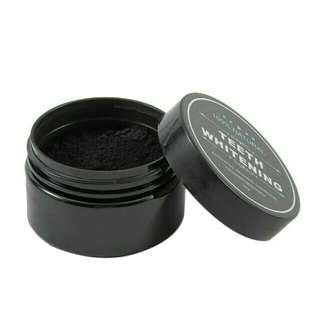 RESTOCKED Teeth Whitening Organic Charcoal Scaling Powder