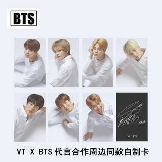 BTS x VT UNOFFICIAL PHOTOCARDS