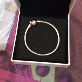 Pandora Rose Gold Heart Clasp