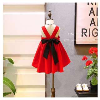 Red CNY girl dress
