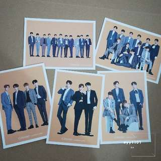 [WTS] Wanna One X Ghana Chocolate official postcard set