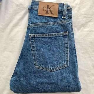 Vintage High Waist Calvin Klein Jeans