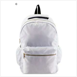 #CHIC STYLING WHITE BACKPACK