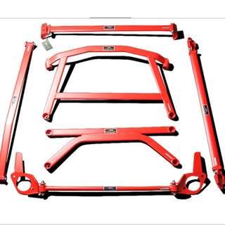 5 Piece Strut Bar Set for All Car Make and Model