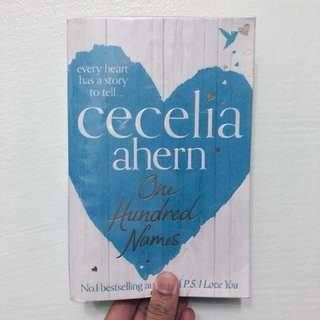 One Hundred Names by Cecilia Ahern