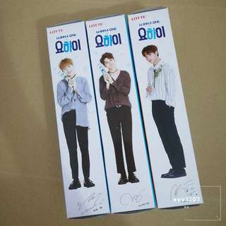[WTS/Ready Stock] Wanna One yohi biscuits new ver packaging