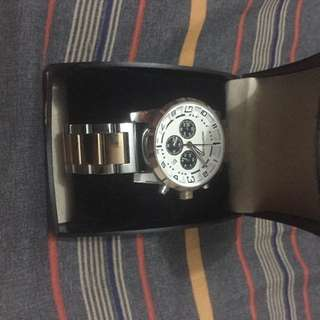 Montblanc gold & silver tone watch