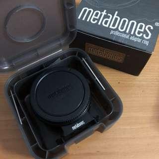 Metabones Adapter Canon EF to Emount T (Mark IV)