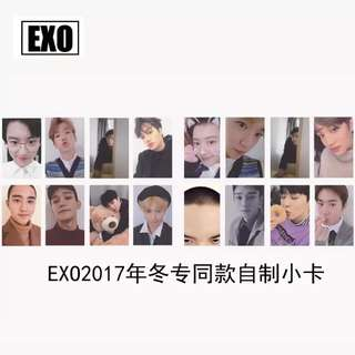 EXO UNIVERSE UNOFFICIAL ALBUM PHOTOCARDS