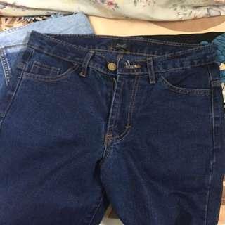 Boyfriend jeans dark blue