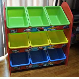 Storage Rack For Kids / Childrens Toys