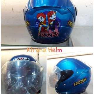 Helm Anak Kop - Warna Biru