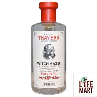 ⚡️SALE⚡️ *FREE MAIL Thayers, Rose Petal, Witch Hazel Toner 355ml