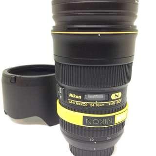 AFS-NIKKOR 24-70mm f/2.8G ED