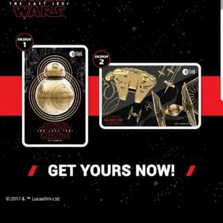 Star wars Ezlink Limited Edition Last Jedi