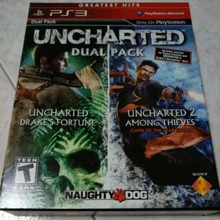 PS3 - Uncharted Dual Pack