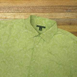 Kemeja BANANA REPUBLIC Floral Shirt Lengan Panjang Big Size