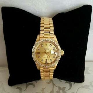 Presidential Rolex partially used