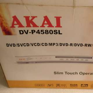 AKAI 全新DVD機 DV-P4580SL