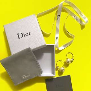 Dior Pearl earrings