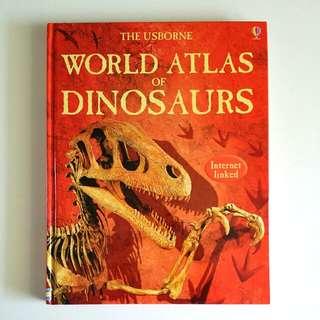 The Usborne World Atlas of Dinosaurs c/w Internet Links by Susanna Davidson (Children Non-Fiction)