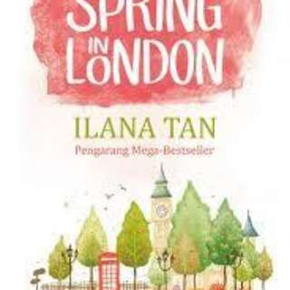 SPRING IN LONDON - ILANA TAN seri 4
