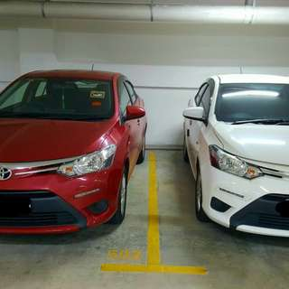 Vios available for rent 2017 model