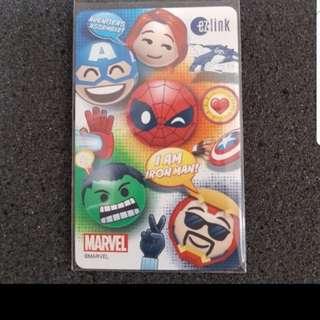 Brand NEW Limited Marvel Avenger Ezlink Card