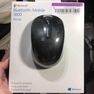 🚚 微軟藍牙行動滑鼠 3600 -黑 全新原廠