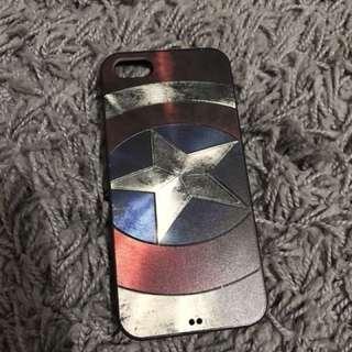 Captain america's shield softcase