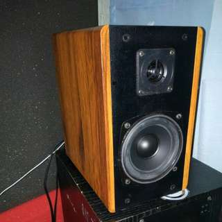 Sansui Vintage Bookshelf Speakers (Bluetooth edition)