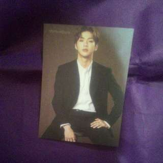 Kang Daniel Think Nature Postcard