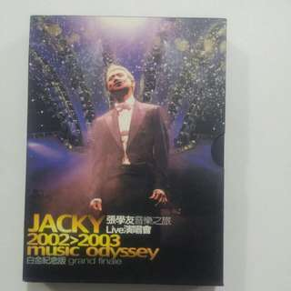 Jacky Cheung collectible discs 2002 - 2003