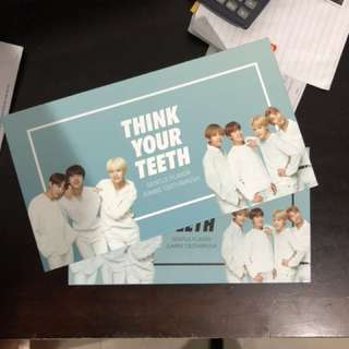 Bts Jumbo Toothbrush set