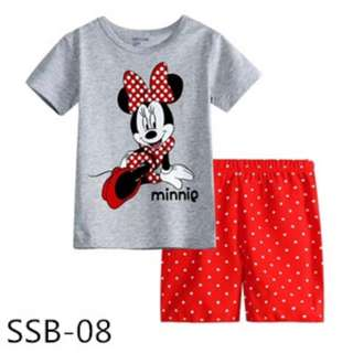 Minnie tee set