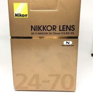 Nikon 24-70 f2.8G ED