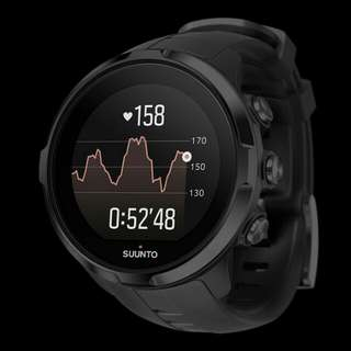 SUUNTO SPARTAN SPORT WRIST HR ALL BLACK SS022662000