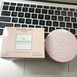 【Brand New】Guerlain meteorites Brithday candies pearls face powder  limited edition