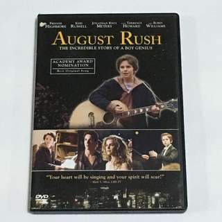 30% OFF GREAT CNY SALE {DVD,VCD & CD} AUGUST RUSH - DVD