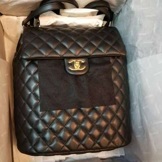 Chanel backpack!全新!可陪驗