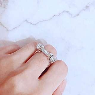 APM monaco 經典馬蹄系列指環鑲鑽戒指