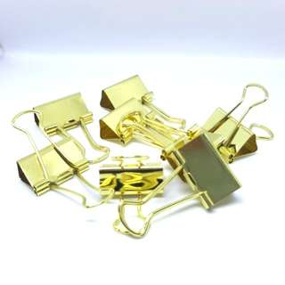 [INSTOCK] Gold Metal Paperclips