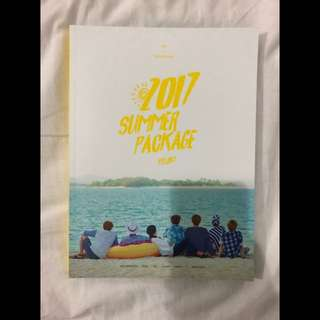 Bts summer package 2017 photobook