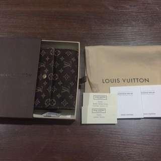 100% Authentic Louis Vuitton Mini Lin Elise Wallet