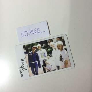 Seventeen Vocal Team AL1 Polaroid