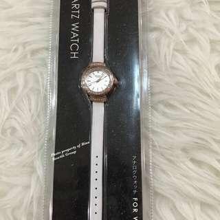 Miniso watch jam tangan miniso wanita putih