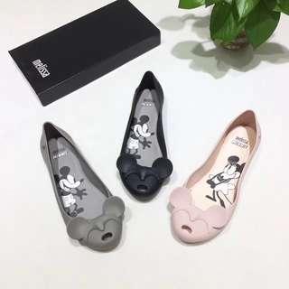 Melissa正品米妮 蝴蝶結魚口鞋 內增高橡膠包鞋 防水防滑設計鞋款香香鞋 巴西品牌鞋款